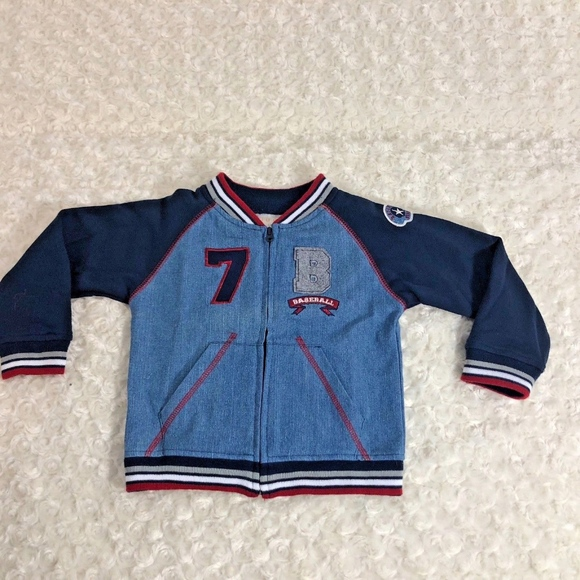 Beluga NY Other - Beluga NY Sz 2T Letterman Jacket Boys Blue Zip Up